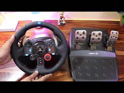 Logitech G29 Force Racing Wheel Unboxing For PS4 PRO