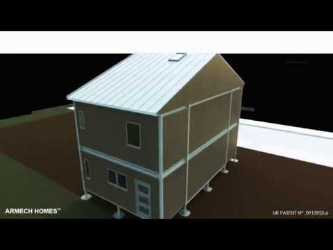 UK Affordable housing by Armech Homes