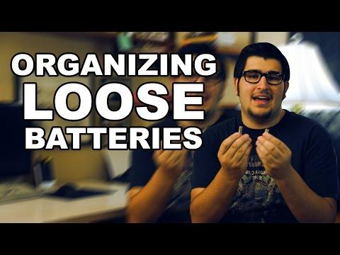 Organizing Loose Batteries