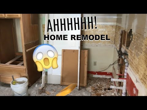 DRAMATIC HOME RENOVATION PROJECT # 1  | GOOD USE OF SMALL SPACE