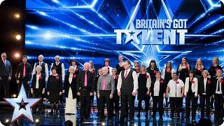 The Missing People Choir Get Their Message Across  Auditions Week 1  Britains Got Talent 2017