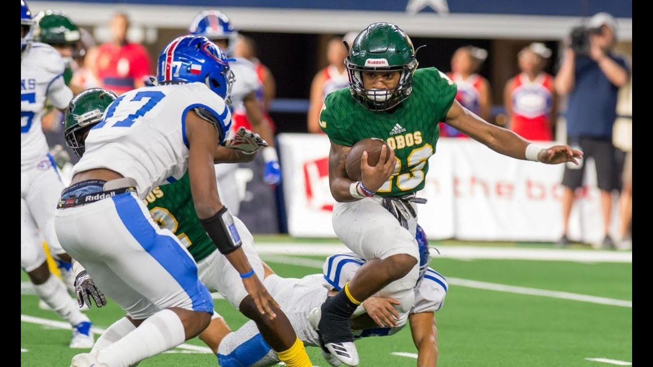 2018 - 6A-DII State Championship - West Brook vs Longview (Full Game)