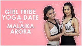 Yoga Date with Malaika Arora & Malini