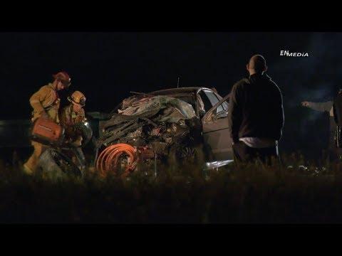 Hemet: Major Rollover Crash Leaves One Dead, Four Injured