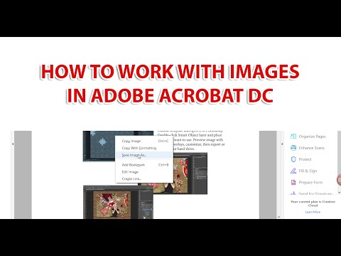 How to Work With Images in Adobe Acrobat DC