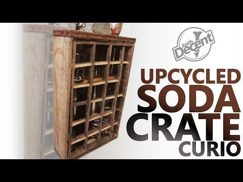 DIY VINTAGE SODA CRATE CABINET - a Decent project