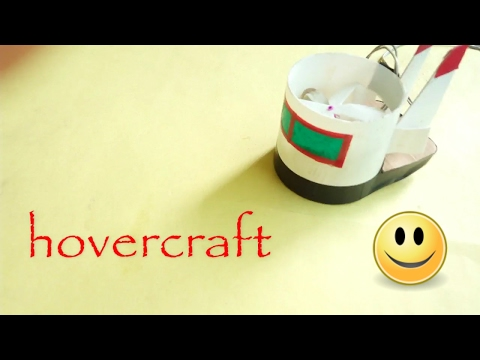 how to make a hovercraft at home