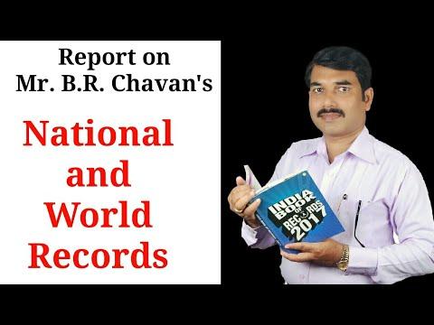 B.R.Chavan's National and world Record by ENGLISH GURU