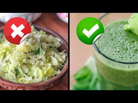 Wonderful Health Benefits Of Cabbage Juice - Tamil Health Tips