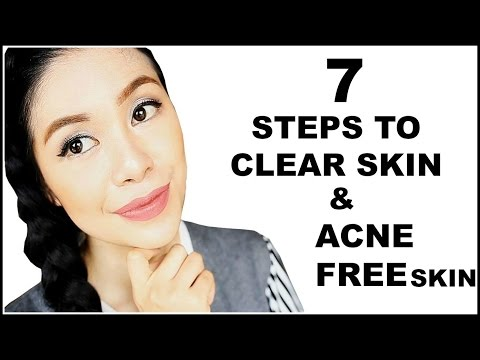 7 Steps To Keep My Skin Clear and Acne Free-Beautyklove