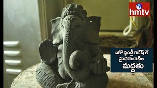 HMDA Officials Distribute 1lakh Eco Friendly Ganesh Idols in the City | hmtv Telugu News