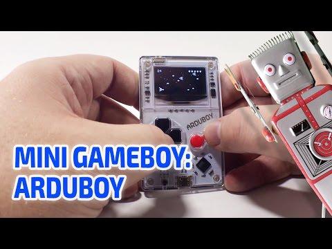 MINI GAMEBOY: THE ARDUBOY working miniature console!!