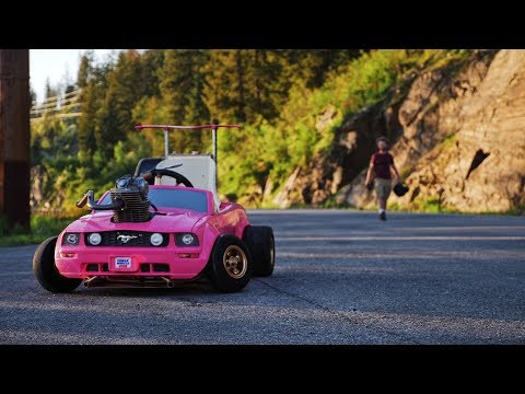 Worlds Fastest Mustang Power Wheels Toy Car