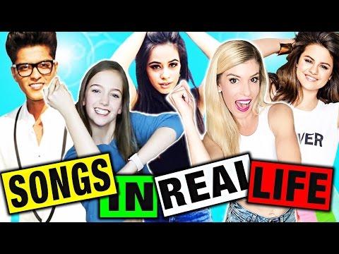 SONGS IN REAL LIFE! (Sketch & Dancing)