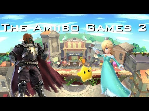 The Amiibo Games 2 - Round 2 Set 7   Evil King (Ganondorf) vs. Dumpster (Rosalina and Luma)