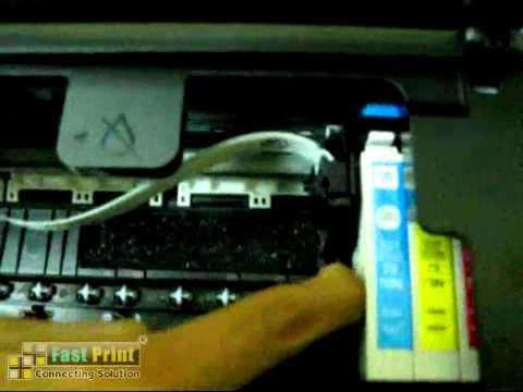 Pemasangan Cartridge mCISS T13,T11,T20E,T40W,TX101,TX110,TX111,T200,TX300,TX400,TX121,TX210