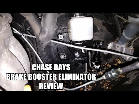 Chase Bays Brake Booster Eliminator QUICK REVIEW 1991-2000 Lexus SC300