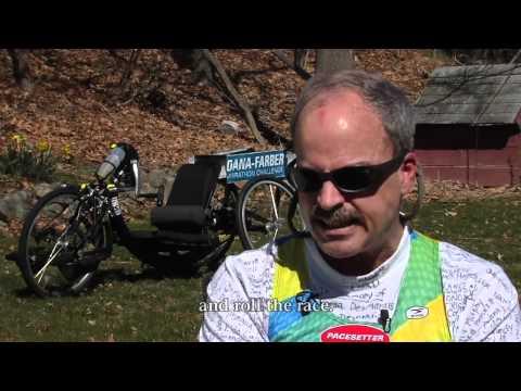 Marathon runner moves to wheels | Dana-Farber Cancer Institute