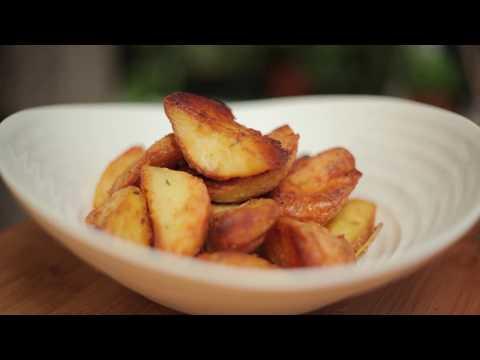 The Ultimate Fluffy + Crispy Roast Potatoes- Ve/GF! Day Ten!
