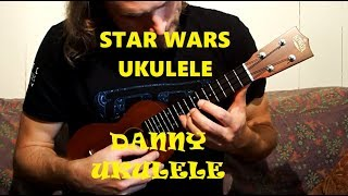 Star Wars Ukulele (The Force, Imperial March & Main Star Wars Theme)
