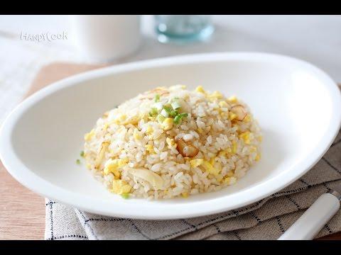 Garlic and egg fried rice (마늘달걀볶음밥)_Koreanfood recipe(영어자막)ENG ver.
