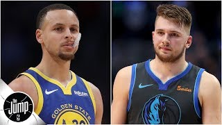 Luka Doncic getting more All-Star votes than Steph is