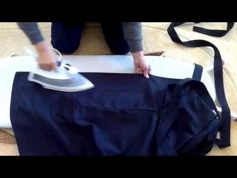Iron Hakama Japanese Traditional Clothes طريقة كوي الهاكما