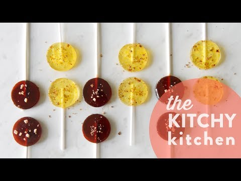 Boozy Lollipops // The Kitchy Kitchen