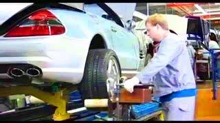 Plant Mercedes-Benz. Manufacturing SL R230 in Bremen, 2004.