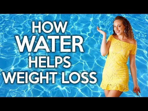How Water Helps You Lose Weight & Belly Fat! Weight Loss Tips, Clear Skin, Energy, Health
