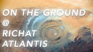 Proof From The Ground That The Richat Structure Is Atlantis