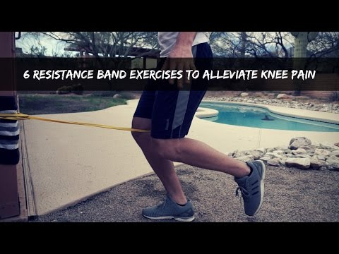 6 Resistance Band Exercises To Alleviate Knee Pain
