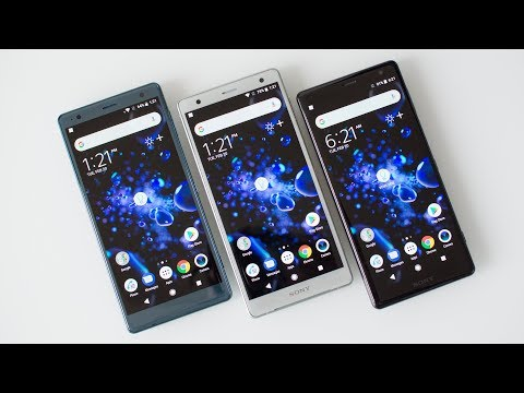 Sony Xperia XZ2 Hands-On: Sony's got a new design!