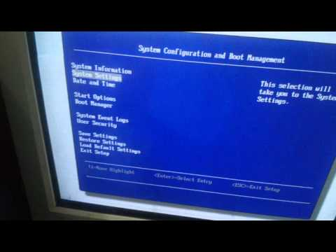 Setting Booting Hardisk Di Bios IBM Server X3100 M4