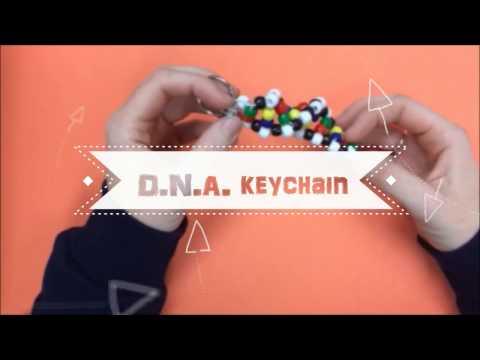 DNA keychain tutorial 2016