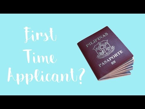 FIRST TIMERS GUIDE TO APPLYING A PHILIPPINE PASSPORT!
