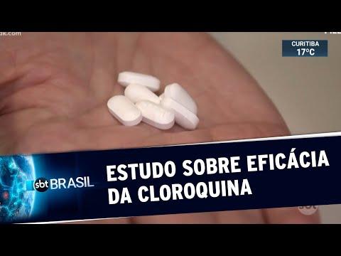 Cloroquina aumenta risco de morte por Covid-19 e casos de arritmia, diz estudo | SBT Brasil (22/05/2