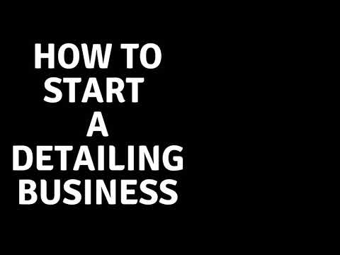 Daily Detail Tip: How To Start A Detailing Business
