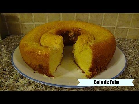 Brazilian Cornmeal Cake - Bolo de Fubá