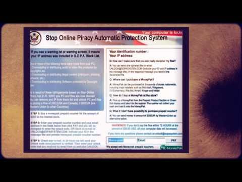 White screen virus HD