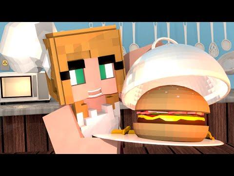 Minecraft | MAKING MY OWN RESTAURANT: Kitchen Furniture Mod Showcase!