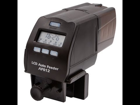 Unboxing Review of DoPhin AF012 LCD Auto Feeder for Fish Aquarium Tank