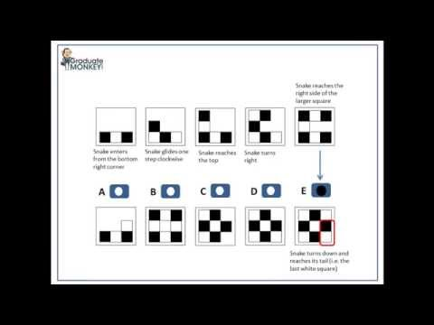 Logical Abstract Reasoning test tutorial SAMPLE 1