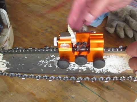 Timberline Sharpener - switching sides