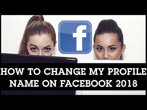 How To Change My Profile Name on Facebook 2018