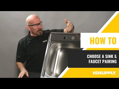 How to Choose a Sink and Faucet Pairing - HD Supply Facilities Maintenance