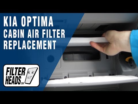 How to Replace Cabin Air Filter 2013 Kia Optima