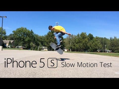 iPhone 5S Slow Motion Test   Flat Ground Skateboarding
