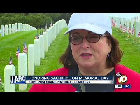 Honoring sacrifice at Fort Rosecrans