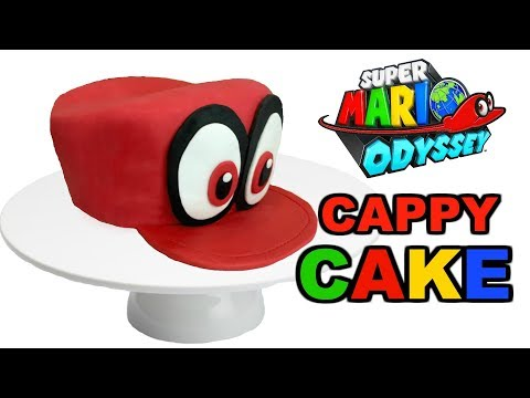 MARIO ODYSSEY CAPPY CAKE COLLAB w/ LITTLE LIZARD KITCHEN! - INSPIRE HAPPENINGS